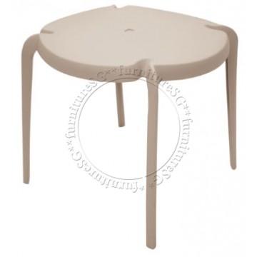 Tramontina - Clarice Table (Warm Grey)
