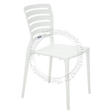 Tramontina - Sofia Chair Horizontal Backrest (White)