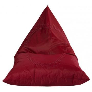 Tetra Lounger bean bag - Red