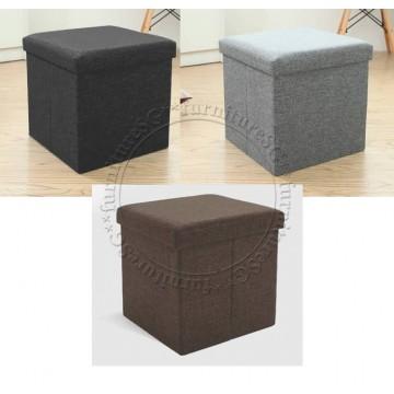 Fabric Storage Stool B (38X38X38)