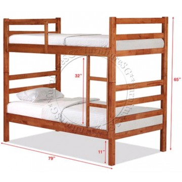 Double Deck Bunk Bed DD1032A