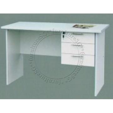 Gemini Writing Table (White)