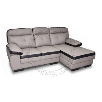 Northwest L-Shape Sofa Set (Half Leather)