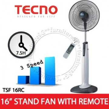 16 Inch Remote Controlled Stand fan(TSF 16RC)