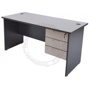 Writing Table WT1257 (150cm) +  Drawers